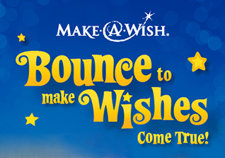 Bounce to make wishes come true