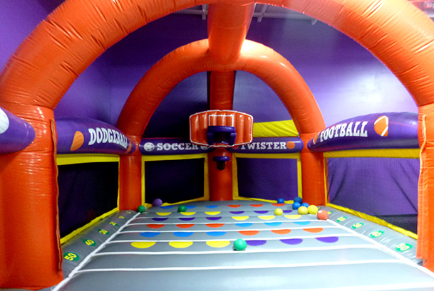 Paramus Indoor Bounce House Attractions and Pictures | BounceU