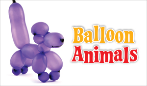 Have fun with Balloon Animals