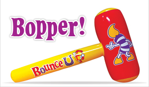 Kids love BounceU Boppers