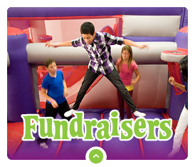 Host a Fundraiser at BounceU