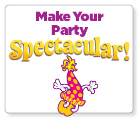 Make your party spectacular