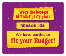 #36 Reason - Parties to fit your budget
