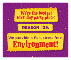#39 Reason - We provide a fun, stress free environment