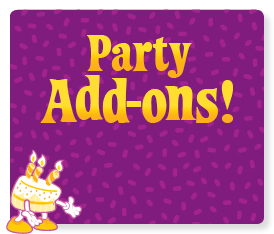 See all our party add ons