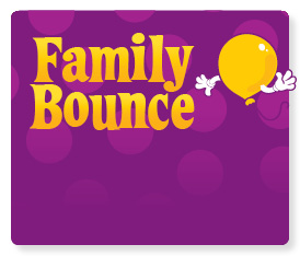 Bring the family for family bounce