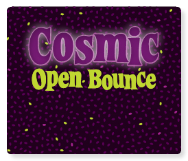Cosmic Open Bounce