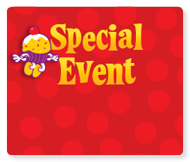 Get special deals for events!