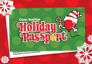 Holiday Passport for unlimited Open Bounce