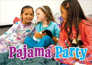 Private specials pajama party front cover
