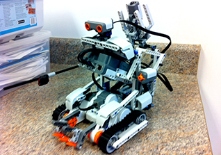 technology camp robot