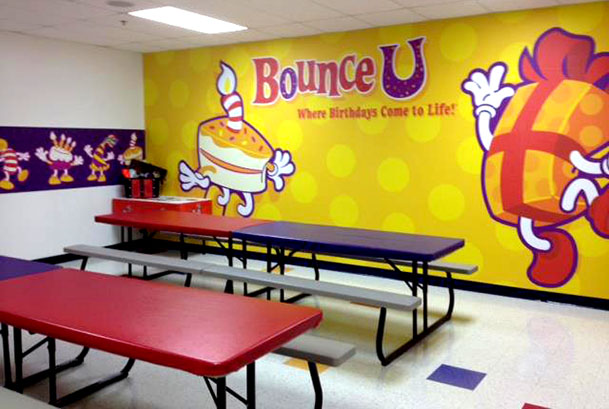 Gilbert Indoor Bounce House Attractions and Pictures | BounceU