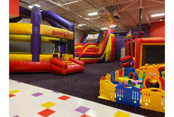 inflatables toddler area