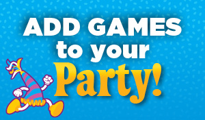 Add games to any party
