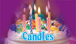 Add Birthday Candles to your Cake!