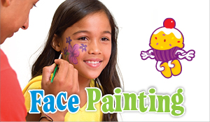 Add Face Painting to any party!