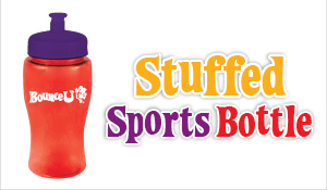 Stuffed Sports Bottle