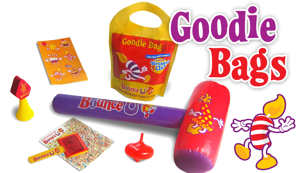 Add Goodie Bags to your Party!