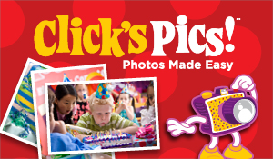 Include photos at your kids birthday party!