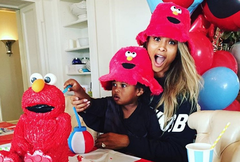 Ciara Throws Son the Perfect Elmo Birthday Party