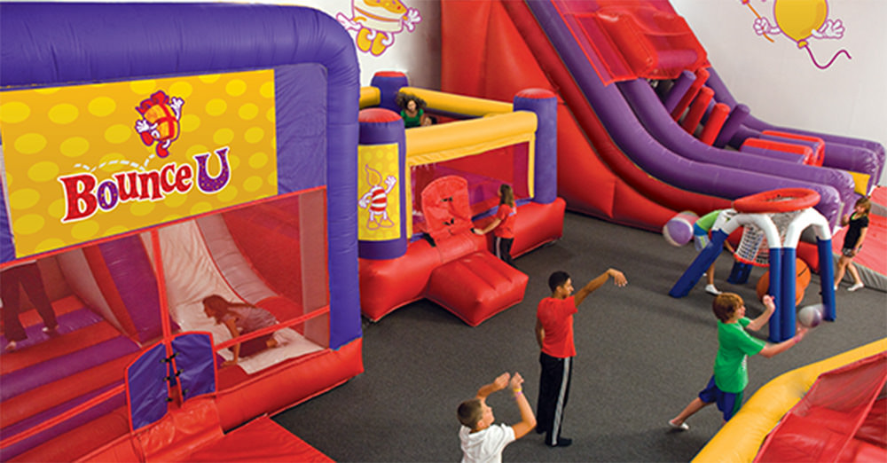 BounceU locations throughout the United States offer a wide variety of party fun.
