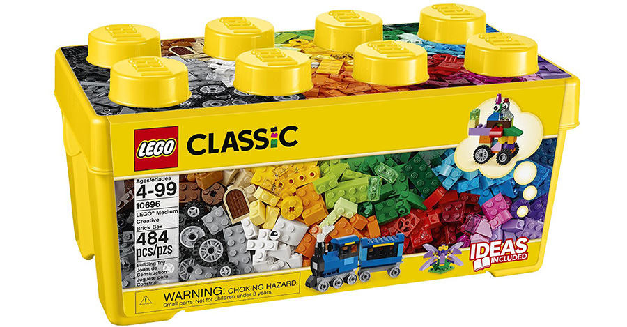 Legos are a great gift for any boy's birthday.
