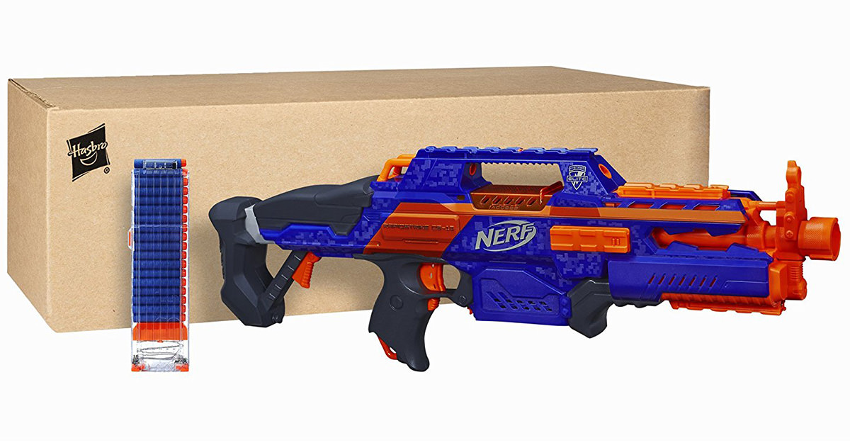 Nerf guns are very popular and fun to play with.