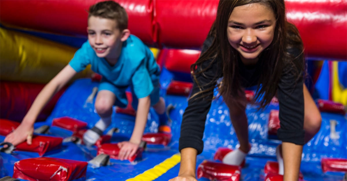 BounceU is a great location to host any summer party.